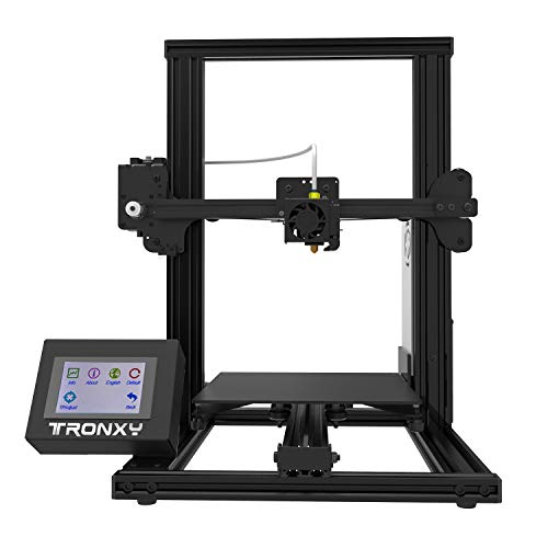 TRONXY XY-2 3D Printer Wireless LCD 3D Printer with Color Touch Screen & Aluminum Frame, 4-Step DIY Assembled Upgraded Nozzle Heat Bed for PLA, ABS Flexible Filaments Large Print Size 220x220x260