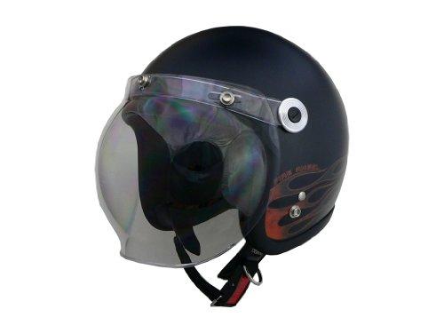 リード工業(LEAD) バイクヘルメット ジェット BARTON ファイアエンジェル フリーサイズ BC-10 -