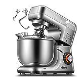 Robot Pâtissier,8 Vitesse Batteur sur Socle, Kit Double Pâtisserie, Pétrin...