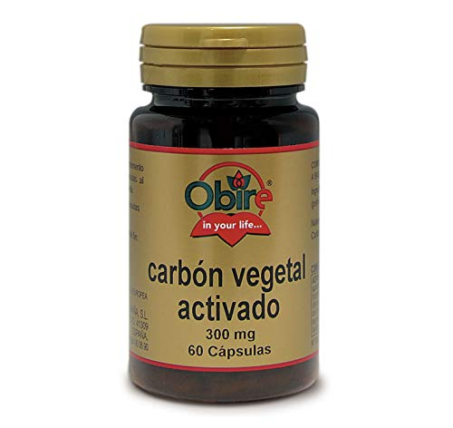 Obire   Carbón Vegetal Activado   300 mg   Para Aliviar Tra