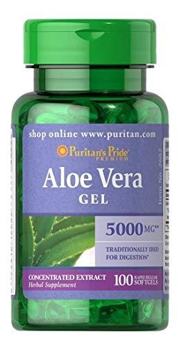 Aloe Vera 100 Cápsulas - Puritan's Pride