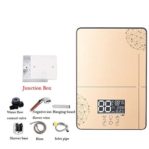 Chauffe-eau JION électrique à Mini-Prise électrique électrique, 6KW Anglais (européen), Seule chaudière anhydre Cuisine Salle de Bain