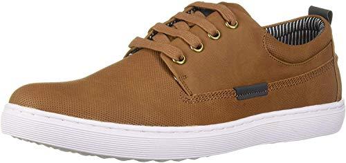 Steve Madden Men's HALLIDAY Sneaker, Cognac, 10.5 M US