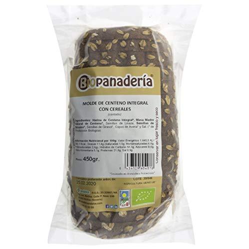 Biopanadería Pan de Molde de Centeno Integral con Cereales