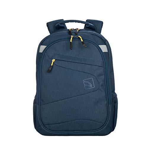 Tucano-Zaino Sportivo da Lavoro per pc da 13 e 14 Pollici e MacBook 13'. Tasche Imbottite per Laptop, Tablet e iPad. Backpack Lato2, Anche Nero, da Donna e da Uomo, Ideale per Ufficio e università