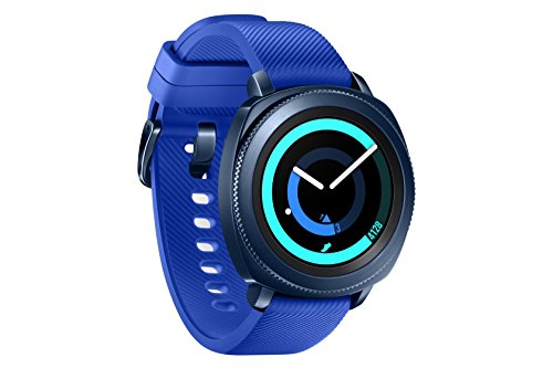 "Samsung Gear Sport - Smartwatch, Tizen, 768 MB de RAM, memoria interna de 4 GB, color azul, 1.2""- Version española"
