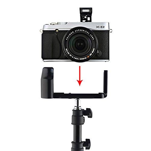NEEWER® L型 クイックリリースプレートブラケット ハンドグリップ付き 撮影用品 Arca Swiss 標準対応 Fujifilm X-E2専用