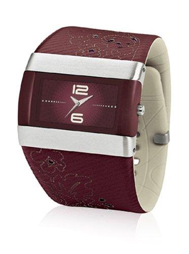NIKE Damen Analog Quarz Uhr mit Edelstahl Armband WC0024618_Morado