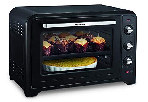 Moulinex Optimo 60L Forno Elettrico, 7 modalit di Cottura, Vetro Opaco, Grill 1200W, 2200 W, 60 Litri, Nero