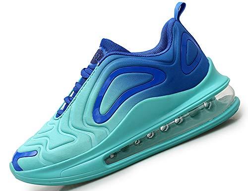 SINOES Mujer720 Caña Baja Gimnasia Ligero Transpirable Casuales Sneakers de Exterior y Interior Zapatillas Deporte Los Zapatos Corrientes de Carretera Turquesa 38 EU