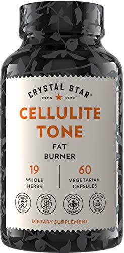 Crystal Star Cellulite Tone Herbal Supplements, 60Count