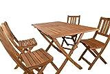 SAM Gartentisch Callao Tisch Akazien-Holz rechteckiger Balkontisch massiv - 4