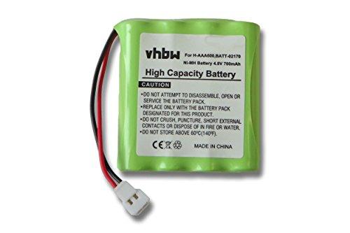 BATERÍA NI-MH 700mAh 4.8V compatible con