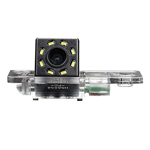 Telecamera di retromarcia HD 720p in luce targa per Audi A3 8P 8V S3 A4 B6 B8 S4 A6 C6 S6 RS6 A8 RS4 TT 8N Q3 Q5 Q7 (A= stile vite)