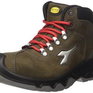 Diadora Diablo High S3 Ci, Unisex Adults' Work shoes, Green (Verde Rabbia), 9 UK (43 EU)