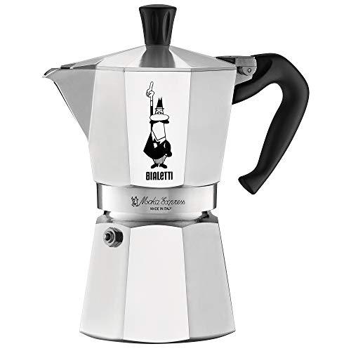 Bialetti 06800 Express Moka Pot, 6 -Cup, Aluminum Silver