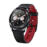 Honor Watch Magic (Lava Black), Lightweight Smart Watch, Personal Fitness Mentor, Watch Faces Store, 7 Days Battery Life, GPS,11 Workout Modes, Scientific Sleep & Heart Rate Monitor
