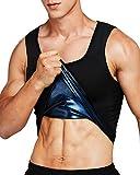 IFLOVE Débardeur de Sudation pour Homme Gilet de Minceur Fitness T-Shirt Effet Sauna Sport Body Shaper L/XL