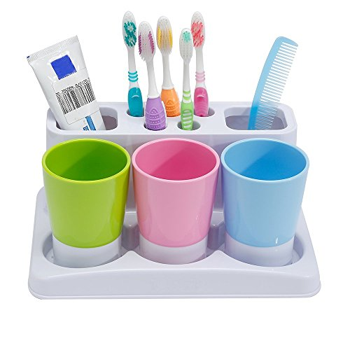 Eslite Toothbrush Toothpaste Holder...