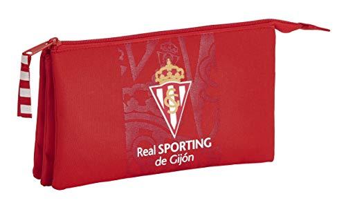 Estuche de Real Sporting de Gijón Oficial Escolar