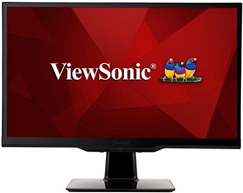 Viewsonic VX2263SMHL-W 54,6 cm (22 Zoll) Monitor (Full-HD, IPS-Panel, 2 ms, MHL-HDMI, Lautsprecher) Weiß
