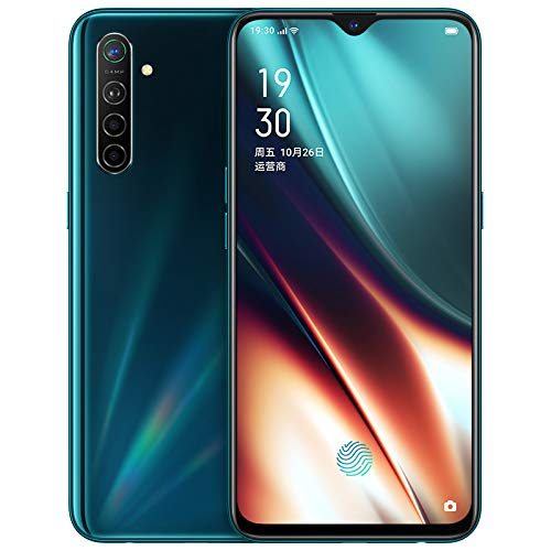 """Original Oppo K5 6G+128GB 4G LTE Global ROM Snapdragon 730G Android 9 NFC Double WiFi 6.4"""" Super Amoled 64.0MP 30W Vooc Charge 4000mAh 5cameras 64MP Support Google-by (CTM Global Store) (Green 6+128g)"""