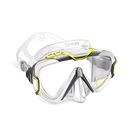 MARES Pure Wire Dive Mask (Grey Yellow Clear)