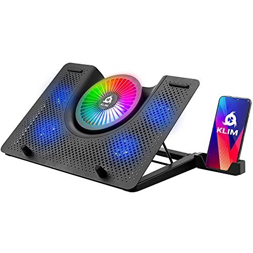 KLIM Nova + Base de refrigeración para portátiles RGB - 11' a 19' +...