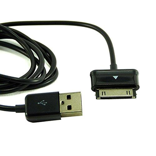 Samsung Cavo Dati e ricarica USB Origine eCC1DP0UBE Galaxy Tab/Etichetta 2/Note 10.1/Nero