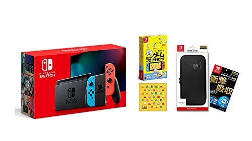 Nintendo Switch 本体 (ニンテンドースイッチ) Joy-Con(L) ネオンブルー/(R) ネオンレッド+ナビつき! つく...