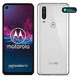 Motorola One Action - Smartphone Dual SIM (Triple cámara: 12 MP + 5 MP y video de 16 MP con ultra...