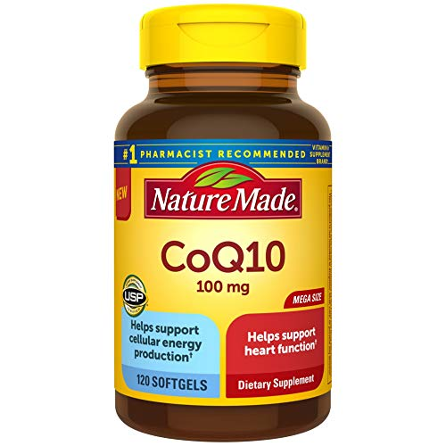 Nature Made CoQ10 100 mg, Dietary Supplements for Heart...