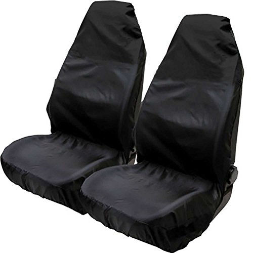 Hiveseen 2St Schonbezug Autositz Universal, Wasserfestem Staubdicht, aus Kunstgewebe, 75x55x55cm Passend für 99{d5d7cb89db351b2dad76a3b5fd3321e61855ffdb13e55c937eb27f9c1e91e4f1} Auto, PKW/KFZ Sitzschoner, Werkstatt Autositzbezüge Für Fahrersitz Vordersitze