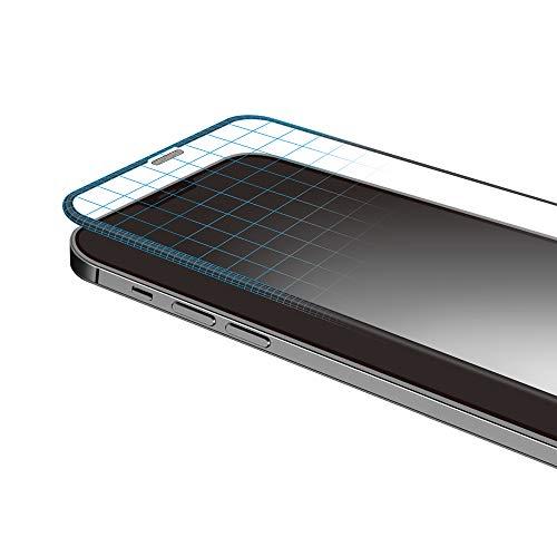 Deff(ディーフ) BUMPER GLASS for iPhone 12 mini(5.4インチ)耐衝撃フレーム付き 割れる確率激減