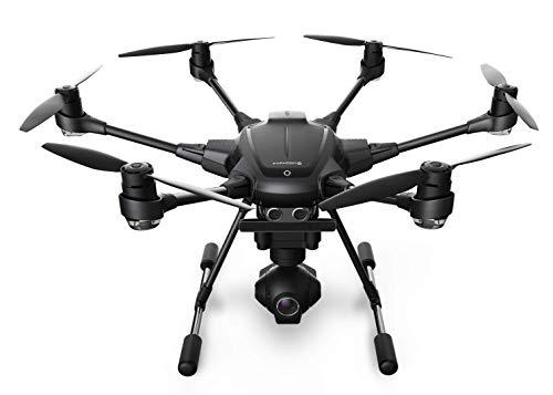 Yuneec TYHBREU Typhoon H RTF con Videocamera 4K panoramica a 360, Telecomando, Gimbal, 2 Batterie e...