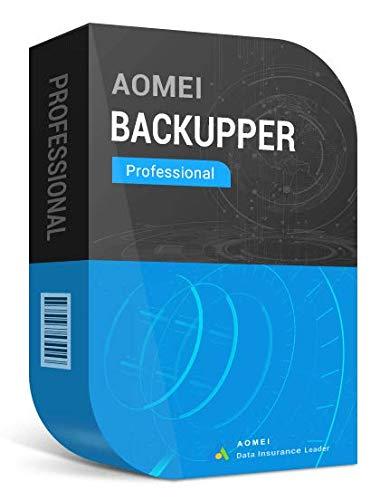 AOMEI Backupper Pro (2 PCs) + actualizaciones gratuitas de por vida - Entrega digital