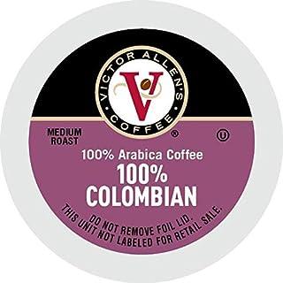 100% Colombian for K-Cup Keurig 2.0 Brewers, 200 Count Victor Allen's Coffee Medium..