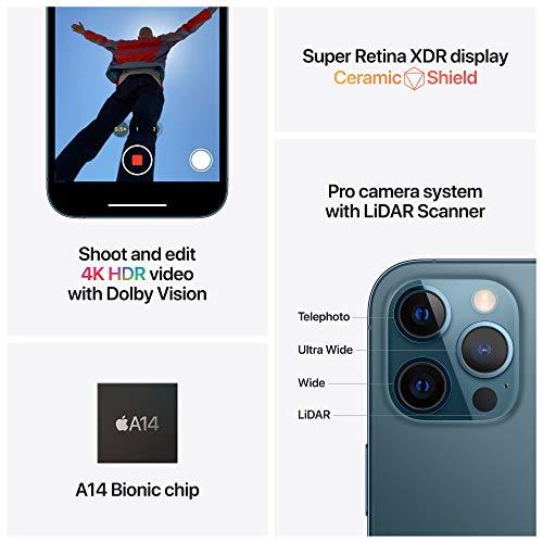 41tZvSrf99L New Apple iPhone 12 Professional Max (128GB) - Silver