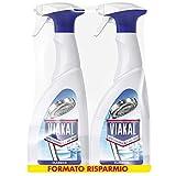 Viakal Anticalcare Detersivo Spray, 2 bottiglie da 700 ml, Classico,...
