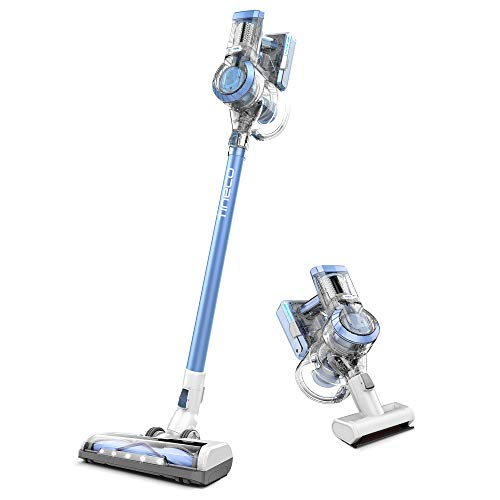 Tineco A11 Hero Cordless Lightweight Stick Vacuum Cleaner, 450W Motor for Ultra Powerful Suction Handheld Vac for Carpet, Hard Floor & Pet