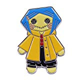Bande dessinée horreur Anime émail broche Badge broche revers col broches broche Badge...