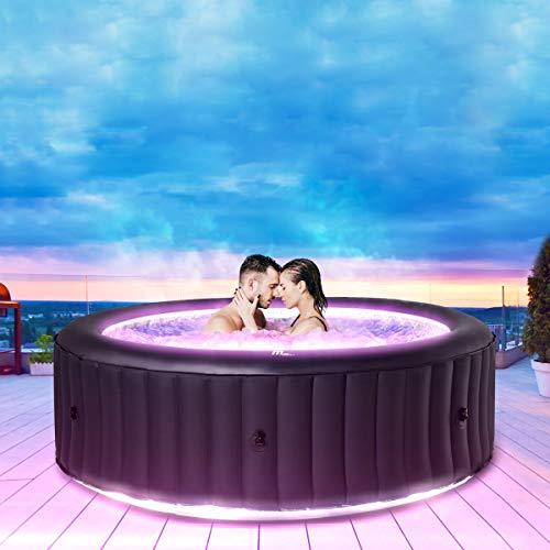 Miweba MSpa aufblasbarer Whirlpool Aurora U-AU06 Outdoor für 6 P...