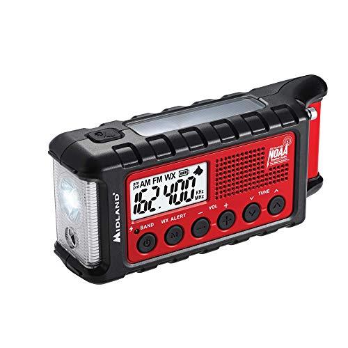 Midland - ER310, Emergency Crank Weather AM/FM Radio -...