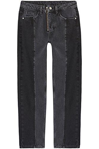 Amazon-Marke: find. Damen Gerade geschnittene Jeans mit...