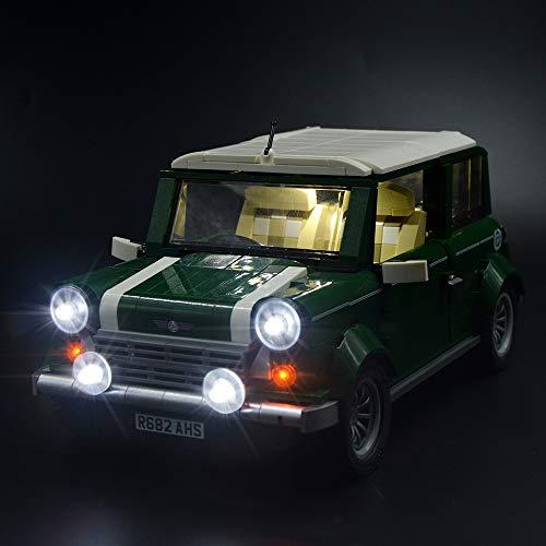 LIGHTAILING Set di Luci per (Creator Expert Mini Cooper) Modello da Costruire - Kit Luce LED Compatibile con Lego 10242 (Non Incluso nel Modello)