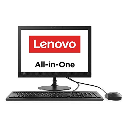 Lenovo IdeaCentre AIO 330 19.5-inch All-in-One Desktop (Intel Celeron J4025/4GB/1TB HDD/DOS (Doesn't Come with Microsoft Windows OS)/Integrated Intel UHD Graphics/HD 720p Camera), Black (F0D7008DIN)