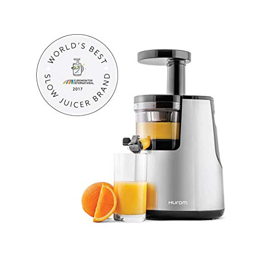 Hurom Elite Slow Juicer Model HH-SBB11 Noble Silver with...