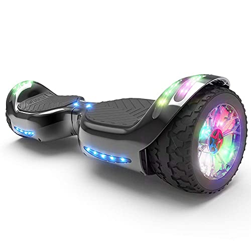 HOVERSTAR HS 2.0v Hoverboard All-Terrain Two Wide Wheels Design Self Balancing Flash Wheels Electric...