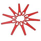 Lot de 150 Lames en Plastique de Rechange pour Coupe-Bordures Florabest LIDL, Lame de Rechange, Clip, cintres, cintres en métal, 50 cintres en métal, Cintre...