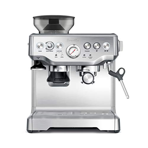 Breville BES870XL Barista Express Espresso Machine, Brushed...